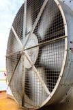 Большой и огромный вентилятор охладителя стоковые изображения rf