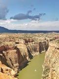 Большой каньон рожка стоковое изображение rf