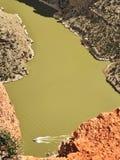 Большой каньон рожка стоковое фото