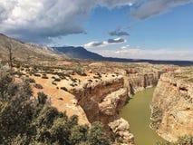 Большой каньон рожка стоковые фото