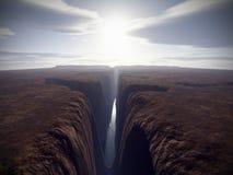большой каньон Стоковое фото RF