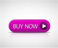 большой кнопки покупкы пурпур теперь Стоковые Фото
