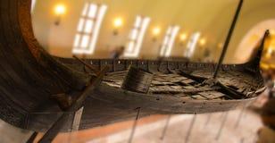 Большой корабль Викинга в Норвегии стоковое фото