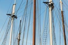 большой корабль sailing такелажирования Стоковое Фото