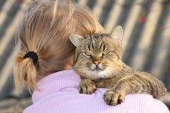 большой кот Стоковые Изображения