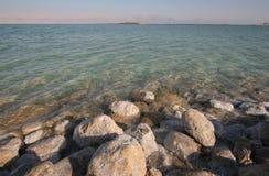 Большой кристалл соли мертвого моря Стоковая Фотография RF