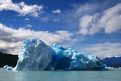большой льдед floe стоковое фото
