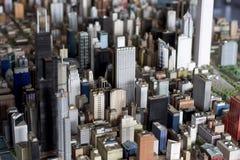 Большой малый город Стоковое фото RF