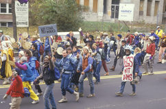 Большой марш мира Стоковые Изображения RF