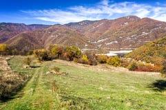 Большой национальный парк Rhodopa, вдоль Болгарии стоковое изображение