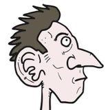 Большой нос Стоковые Изображения RF