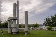 Большой памятник залива Courland, Тобаго Стоковые Изображения RF