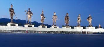Большой памятник королей, Таиланд стоковая фотография