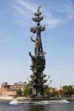 большой памятник moscow peter короля к Стоковые Изображения