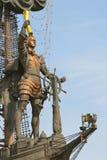 большой памятник peter к Стоковое Фото