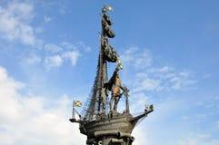 большой памятник peter к Стоковое Изображение