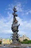 большой памятник peter к Стоковая Фотография RF