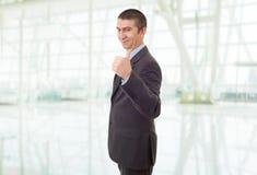 большой пец руки бизнесмена вверх стоковое фото