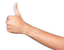 большой пец руки вверх Стоковое Изображение RF