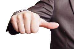 большой пец руки знака Стоковые Фотографии RF