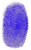 большой пец руки печати Стоковые Фотографии RF