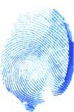 большой пец руки печати Стоковое Фото