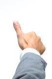 большой пец руки Стоковое Изображение