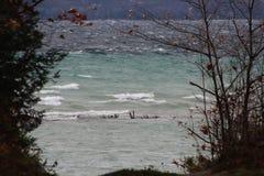 Большой полуостров миссии залива траверзы стоковое изображение rf