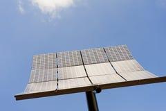 большой полюс панели солнечный Стоковые Фотографии RF