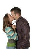 большой поцелуй Стоковые Изображения RF