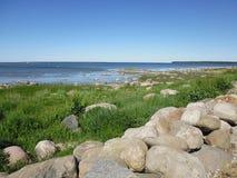 Большой прилив моря Стоковое Изображение RF