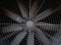 Большой промышленный вентилятор Стоковые Фотографии RF