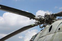 большой пропеллер вертолета Стоковые Изображения RF