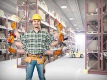 большой работник стоковые фото