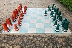 большой размер шахмат стоковая фотография