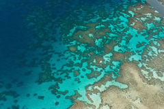 Большой риф барьера стоковое изображение