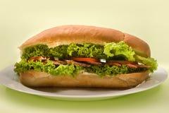 большой сандвич Стоковое Изображение RF