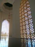 Большой свет города Belopa мечети Стоковое Изображение