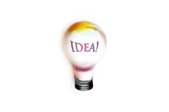 большой свет идеи чертежа шарика Стоковые Изображения