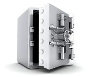 Большой сейф, открытый Стоковое фото RF