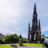 Большой Скотт - в Эдинбурге Стоковые Фотографии RF