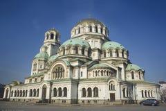 большой собор Болгарии Стоковые Изображения RF