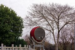 Большой спектр барабанчика-Qingyun Стоковые Фотографии RF