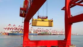 Большой стержень контейнера Стоковые Фотографии RF