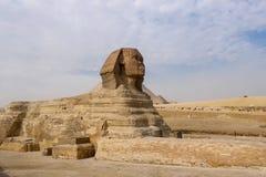 большой сфинкс египетский сфинкс Седьмой интерес мира Старые мегалиты Стоковые Изображения RF