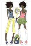 большой теннис Стоковое Изображение