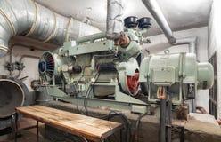 Большой тепловозный генератор Стоковое фото RF