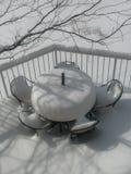 Большой торт от зимы стоковое фото