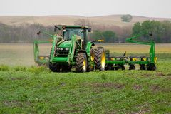 большой трактор Стоковые Изображения RF