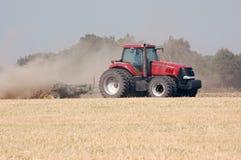 большой трактор Стоковая Фотография
